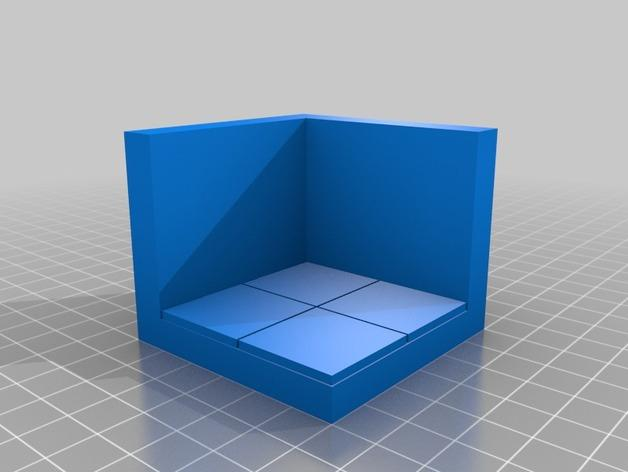 OpenForge边缘平滑的角砖 3D模型  图3