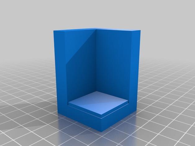 OpenForge边缘平滑的角砖 3D模型  图2