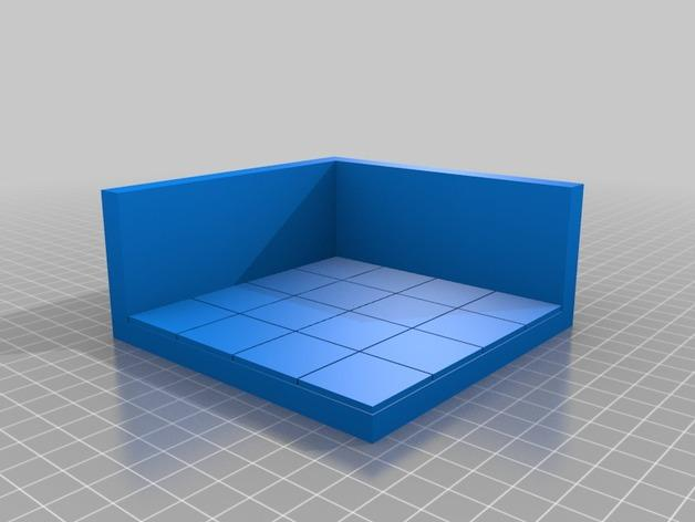 OpenForge边缘平滑的角砖 3D模型  图5