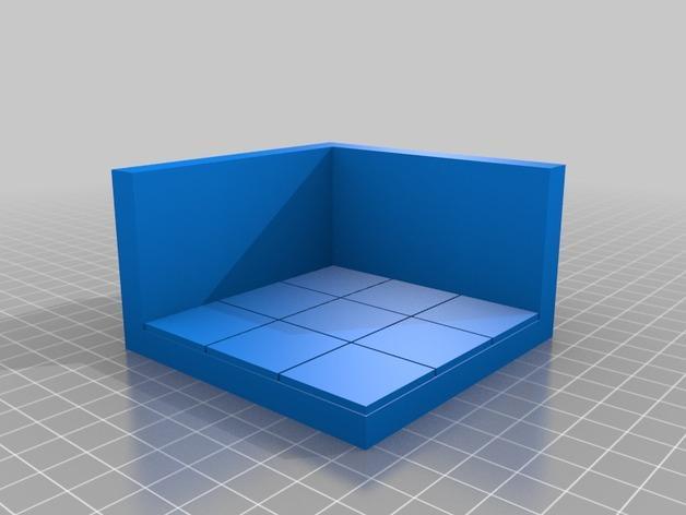 OpenForge边缘平滑的角砖 3D模型  图4