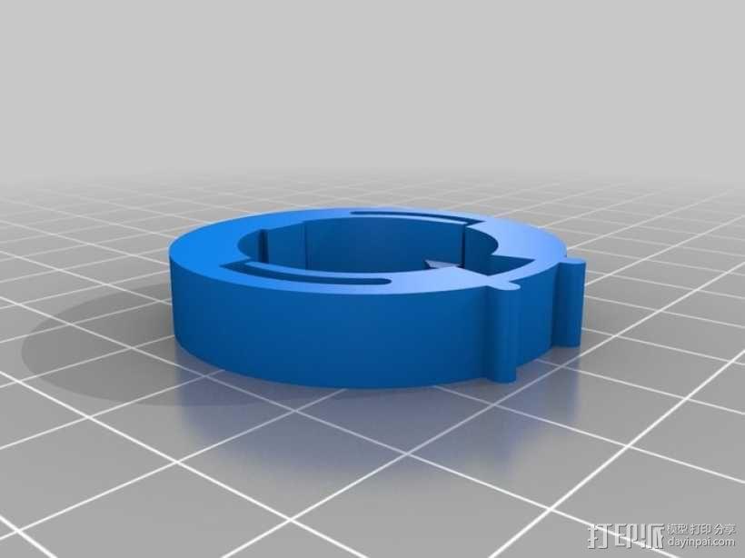 迷你密码筒模型 3D模型  图3