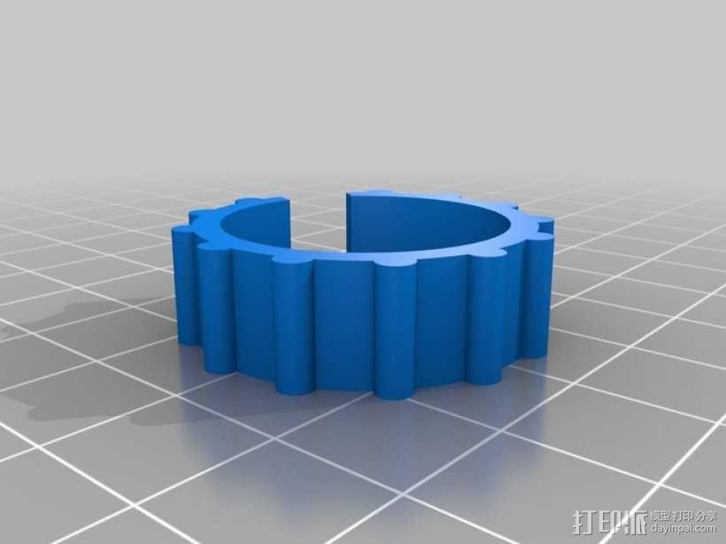 迷你密码筒模型 3D模型  图8