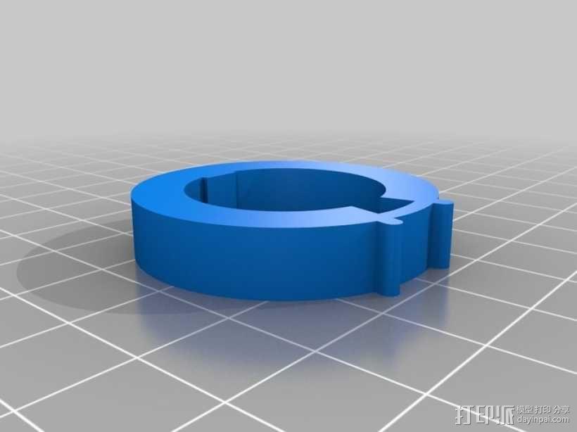 迷你密码筒模型 3D模型  图6