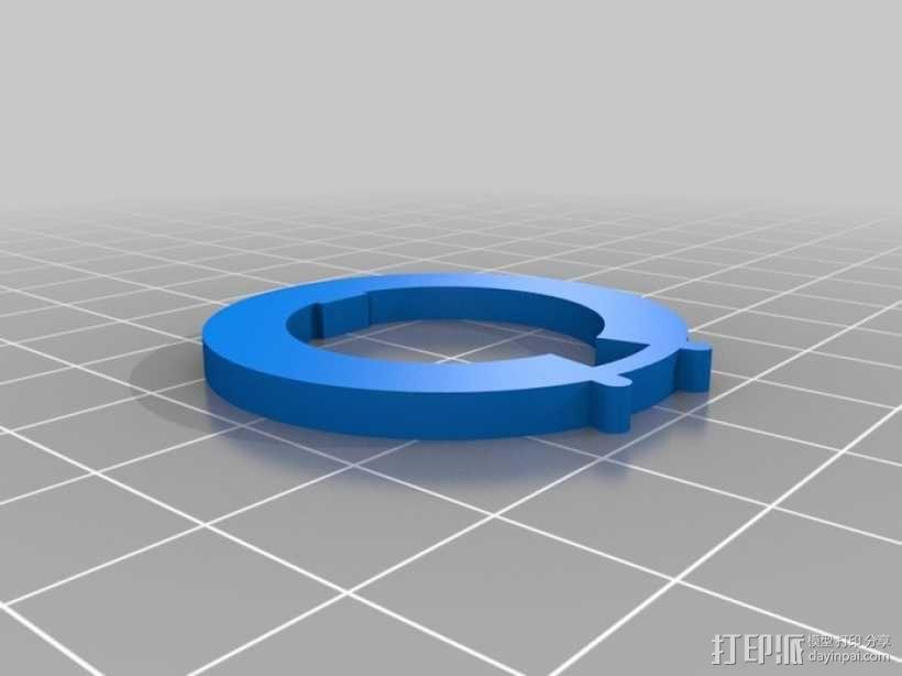 迷你密码筒模型 3D模型  图7