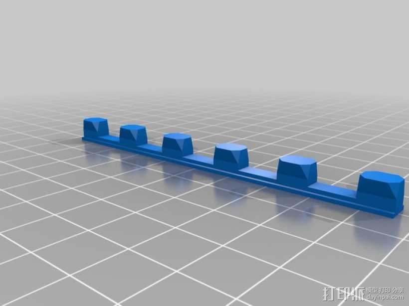 迷你密码筒模型 3D模型  图11