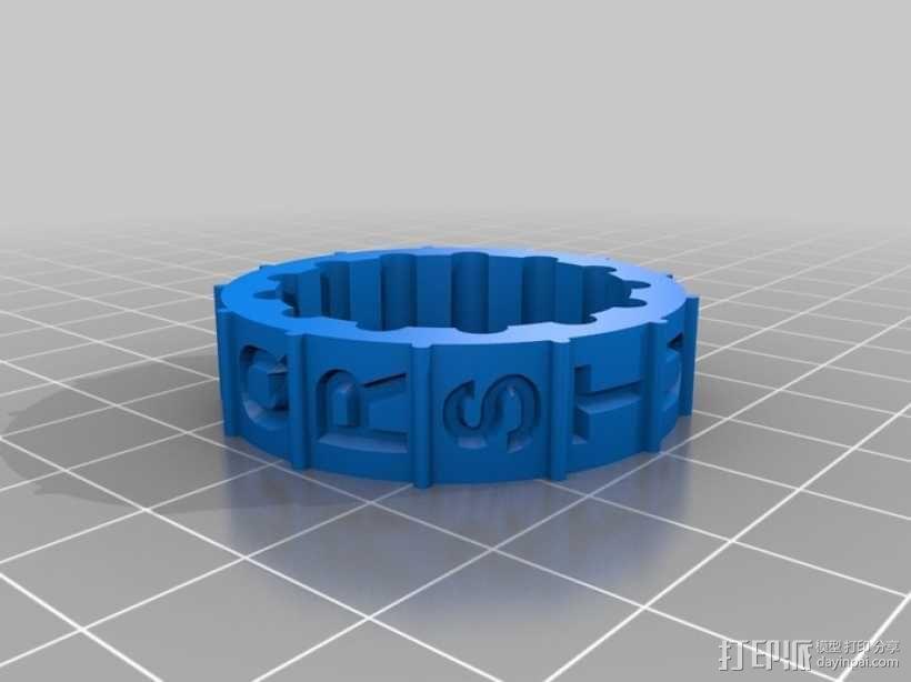 迷你密码筒模型 3D模型  图12