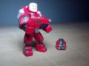 可伸缩定制的星际战士 3D模型