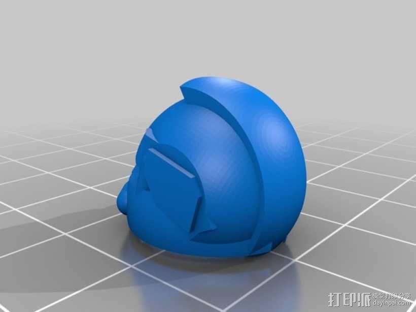 可伸缩定制的星际战士 3D模型  图6