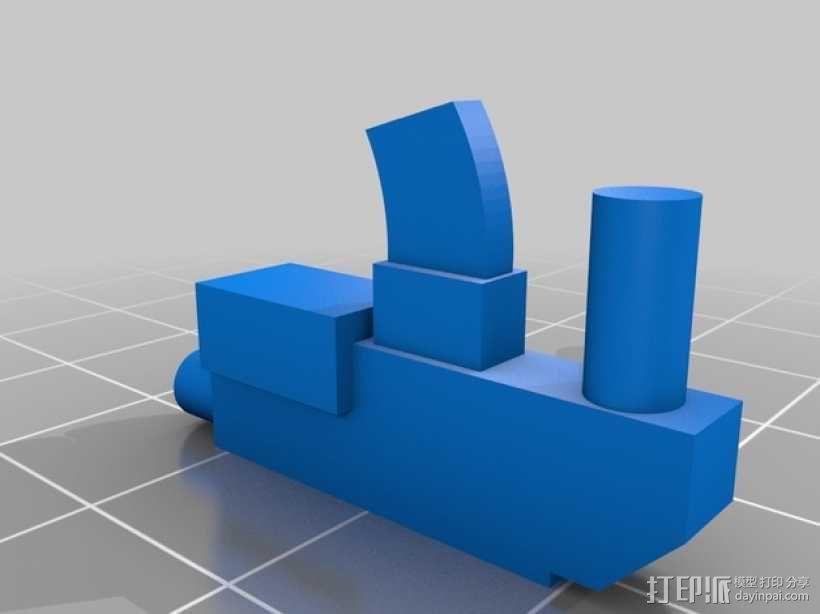 可伸缩定制的星际战士 3D模型  图5