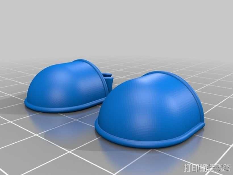 可伸缩定制的星际战士 3D模型  图7