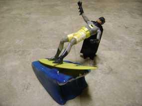 蝙蝠侠冲浪板支架 3D模型