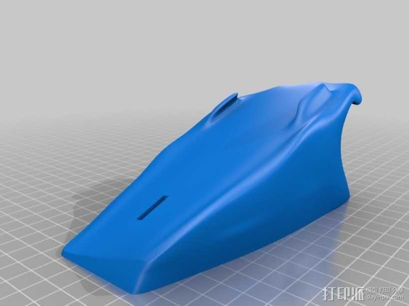 蝙蝠侠冲浪板支架 3D模型  图2