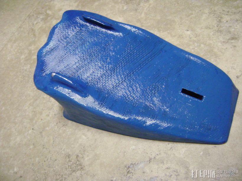 蝙蝠侠冲浪板支架 3D模型  图8