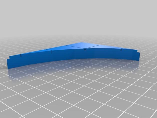 OpenForge椭圆形墙壁 3D模型  图6