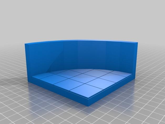 OpenForge椭圆形墙壁 3D模型  图5