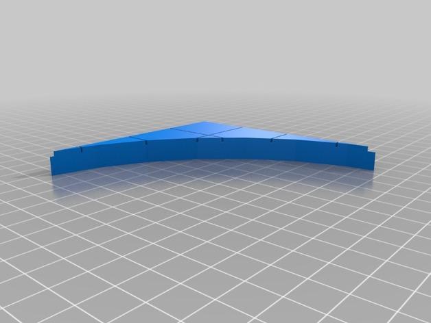 OpenForge椭圆形墙壁 3D模型  图8