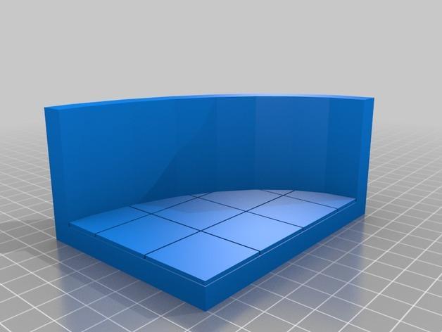 OpenForge椭圆形墙壁 3D模型  图7