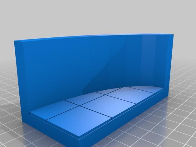 OpenForge椭圆形墙壁 3D模型  图9