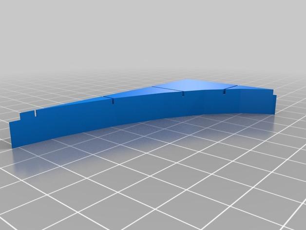 OpenForge椭圆形墙壁 3D模型  图10