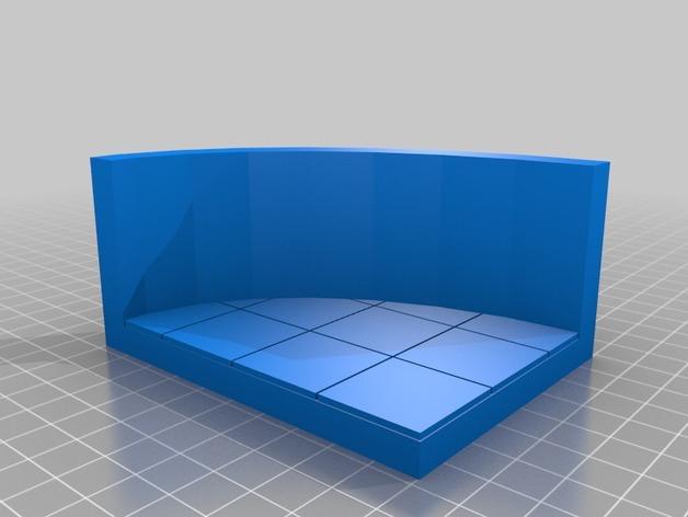 OpenForge椭圆形墙壁 3D模型  图13