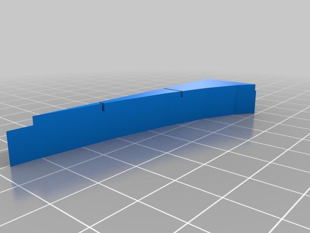 OpenForge椭圆形墙壁 3D模型  图12