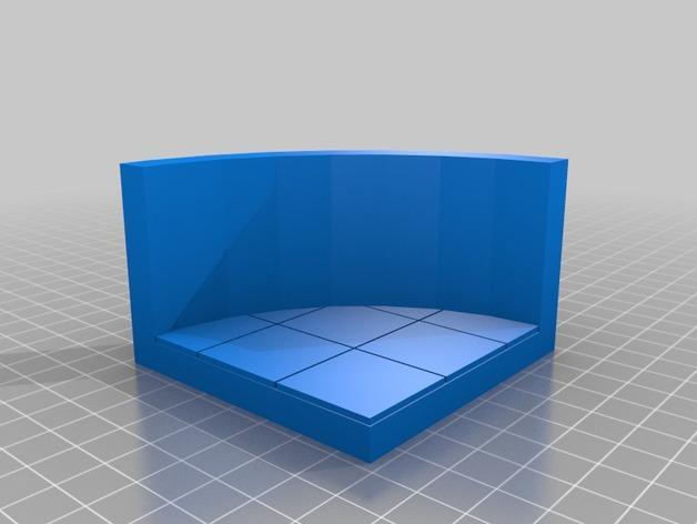 OpenForge椭圆形墙壁 3D模型  图15