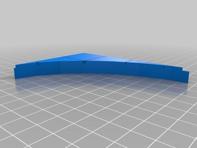 OpenForge椭圆形墙壁 3D模型  图14