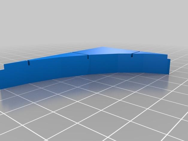 OpenForge椭圆形墙壁 3D模型  图18