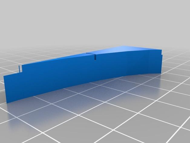 OpenForge椭圆形墙壁 3D模型  图20