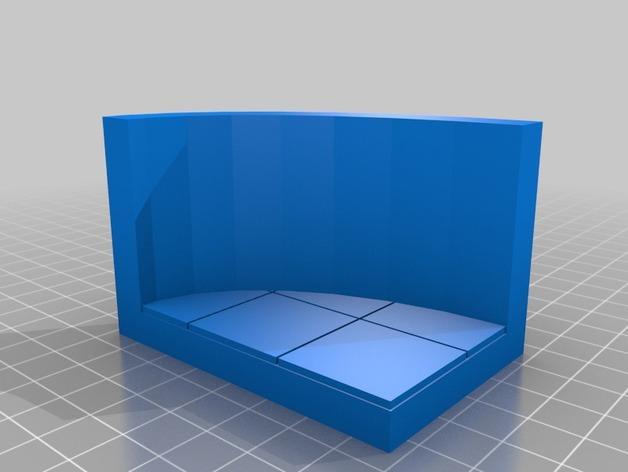 OpenForge椭圆形墙壁 3D模型  图23