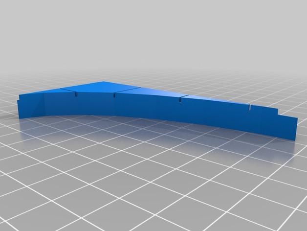 OpenForge椭圆形墙壁 3D模型  图22