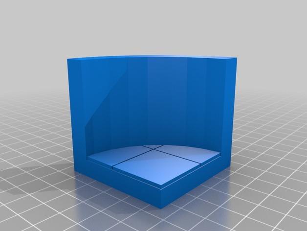 OpenForge椭圆形墙壁 3D模型  图25