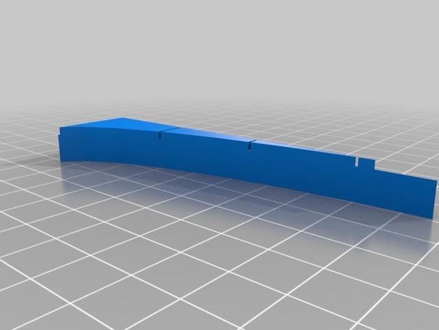 OpenForge椭圆形墙壁 3D模型  图30