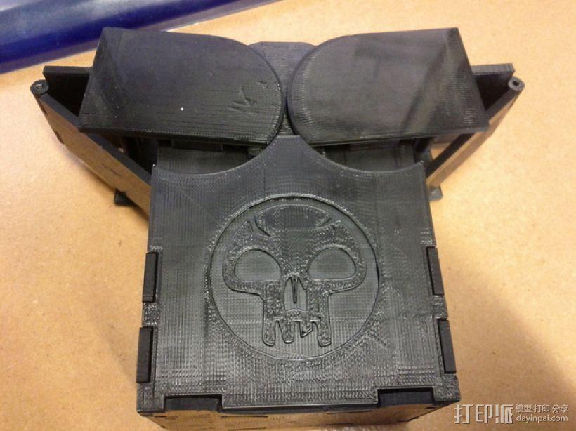 齿轮转动的MTG盒子 3D模型  图6