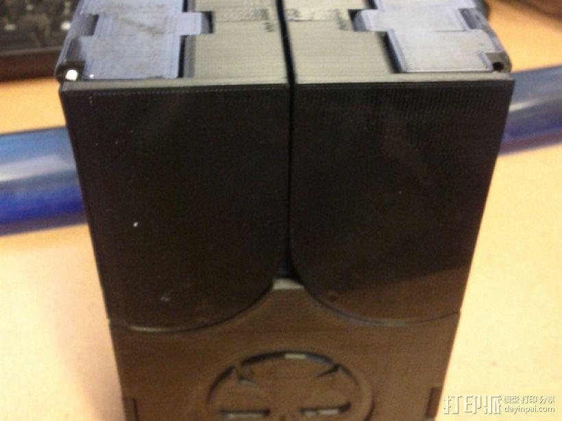 齿轮转动的MTG盒子 3D模型  图8