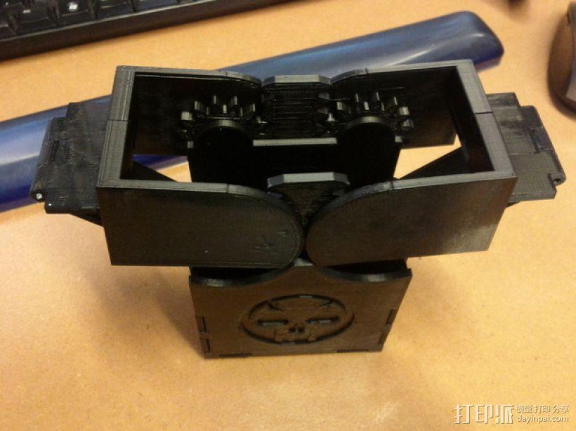 齿轮转动的MTG盒子 3D模型  图7