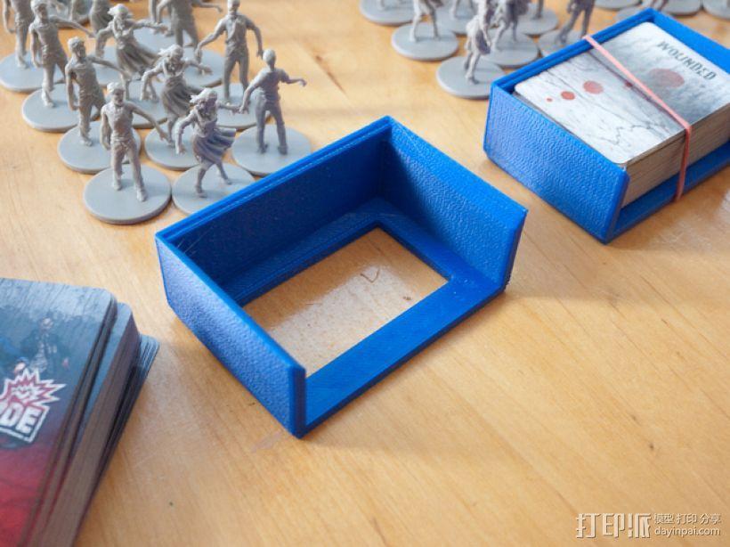 僵尸围城游戏卡盒 3D模型  图1