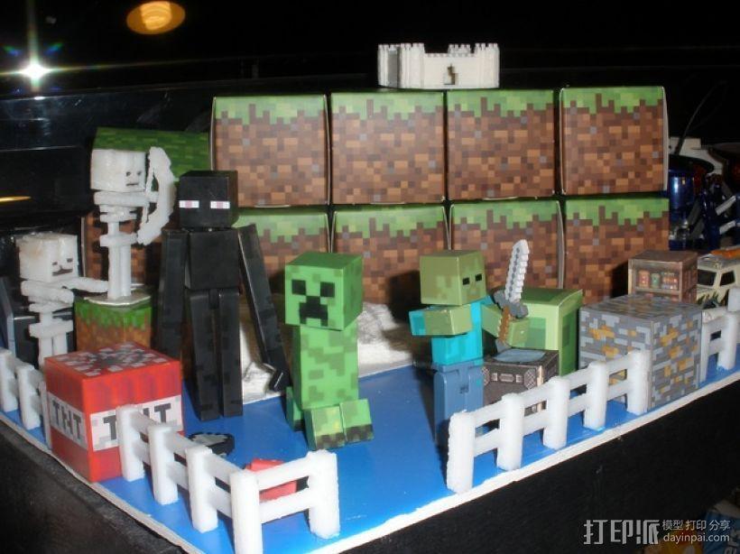 Minecraft 玩偶套件 3D模型  图1