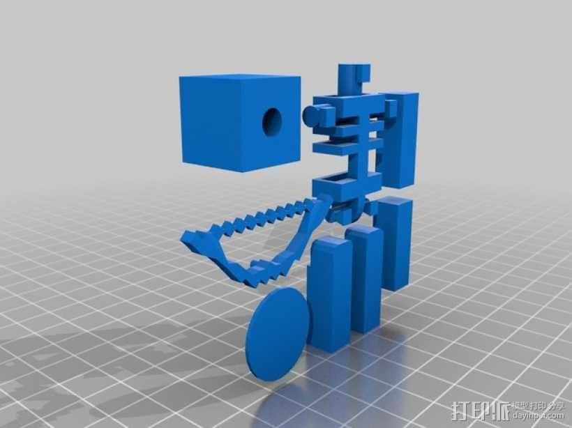 Minecraft 玩偶套件 3D模型  图2