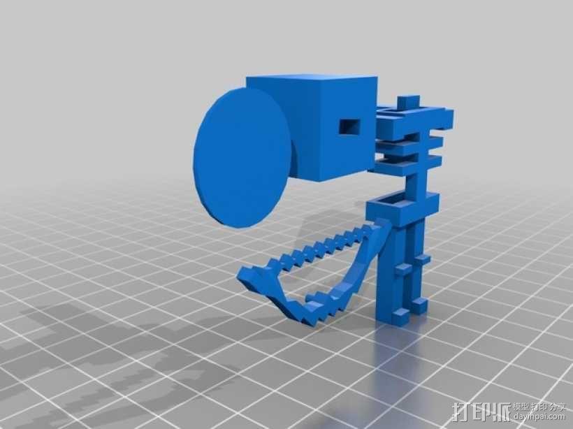 Minecraft 玩偶套件 3D模型  图5