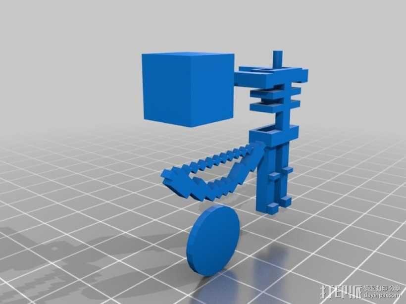 Minecraft 玩偶套件 3D模型  图4