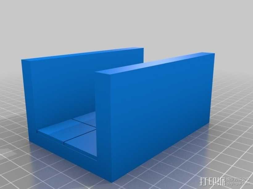 OpenForge边缘平滑的走廊模型 3D模型  图4