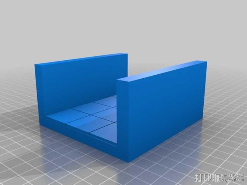 OpenForge边缘平滑的走廊模型 3D模型  图3