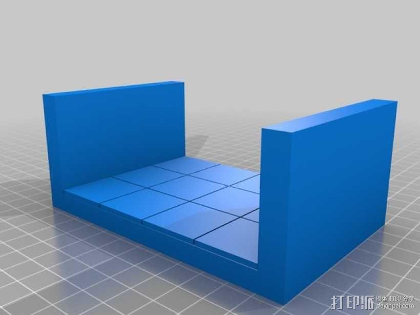 OpenForge边缘平滑的走廊模型 3D模型  图6