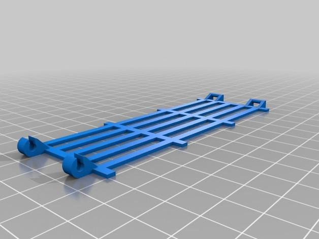 可连接的栅栏 3D模型  图1