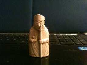 路易斯岛棋子:主教 3D模型