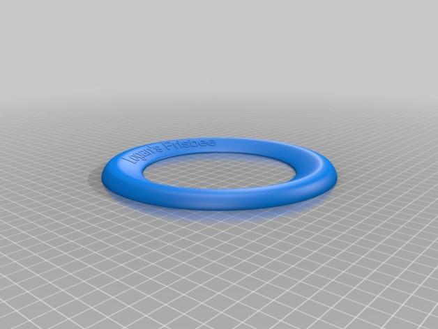 飞盘外壳 3D模型  图2