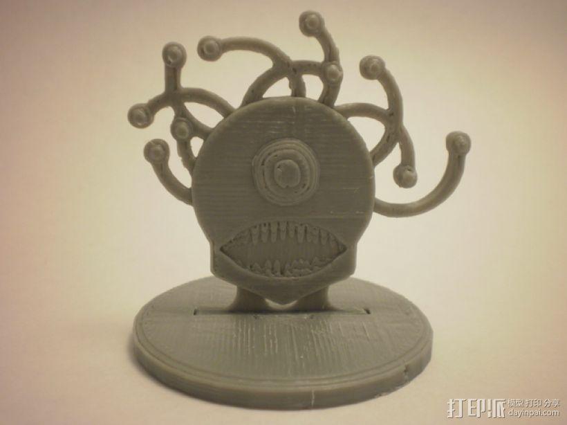 FlatMinis:巨眼怪 3D模型  图1
