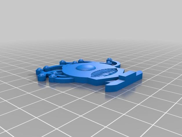 FlatMinis:巨眼怪 3D模型  图2