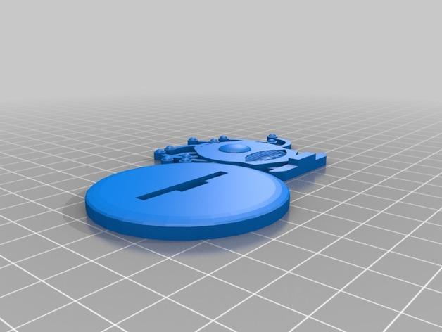 FlatMinis:巨眼怪 3D模型  图4